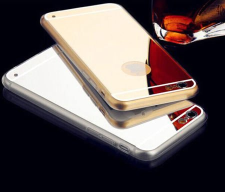 Slim Mirror Case Złoty | Etui dla Apple iPhone 4 / 4S