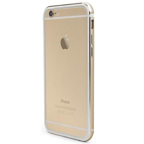Aluminiowy bumper X-Doria Bump Gear Plus - Apple iPhone 6 Plus - Złoty