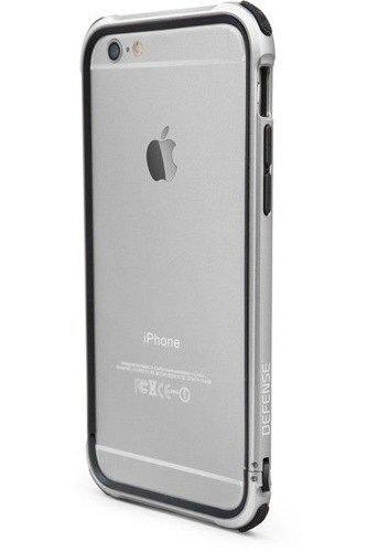 Aluminiowy bumper X-Doria Defense Gear Apple iPhone 6 iPhone 6S Srebrny