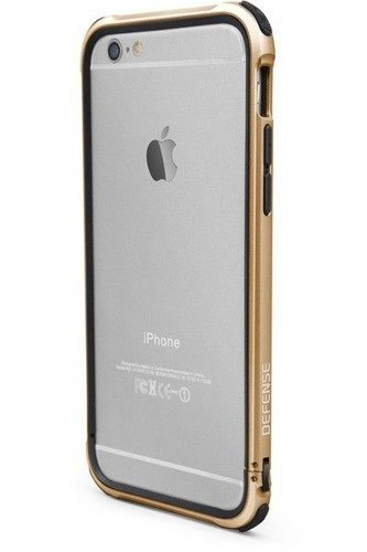 Aluminiowy bumper X-Doria Defense Gear Apple iPhone 6 iPhone 6S Złoty