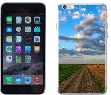 Apple iPhone 6 / 6S - etui na telefon - Kolekcja widoki - pola - G21