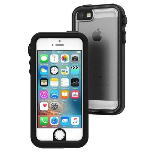 Catalyst Waterproof Case Black / Space Grey | Wodoszczelne etui ze smyczą dla modelu Apple iPhone 5 / 5S / SE