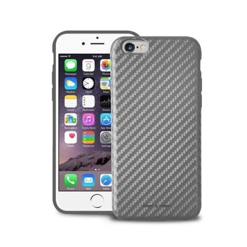 Etui Italia Independent Carbon - Apple iPhone 6 - Srebrne