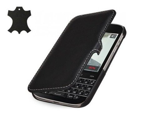 Etui Stilgut UltraSlim Book Blackberry Q20 Czarne
