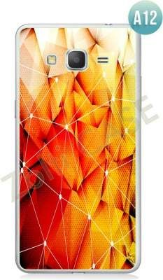 Etui Zolti Ultra Slim Case - Galaxy Grand Prime - Abstract - Wzór A12