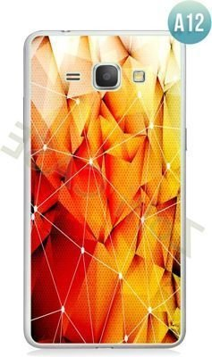Etui Zolti Ultra Slim Case - Galaxy J1 - Abstract - Wzór A12