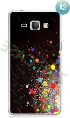Etui Zolti Ultra Slim Case - Galaxy J1 - Abstract - Wzór A2