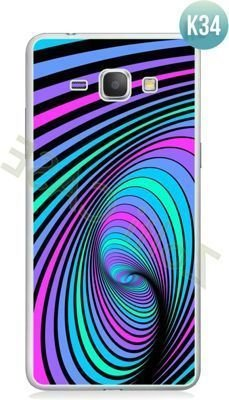 Etui Zolti Ultra Slim Case - Galaxy J1 - Colorfull - Wzór K34