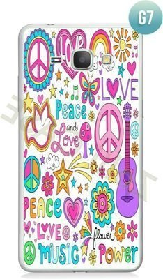 Etui Zolti Ultra Slim Case - Galaxy J1 - Girls Stuff - Wzór G7