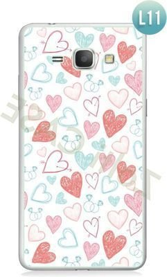 Etui Zolti Ultra Slim Case - Galaxy J1 - Romantic - Wzór L11