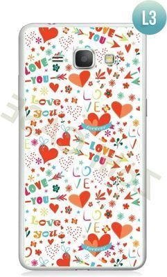 Etui Zolti Ultra Slim Case - Galaxy J1 - Romantic - Wzór L3