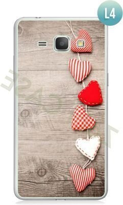 Etui Zolti Ultra Slim Case - Galaxy J1 - Romantic - Wzór L4