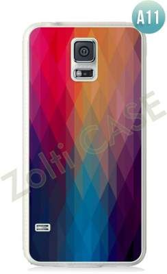 Etui Zolti Ultra Slim Case - Galaxy S5 - Abstract - Wzór A11