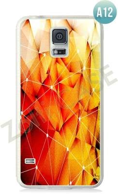 Etui Zolti Ultra Slim Case - Galaxy S5 - Abstract - Wzór A12
