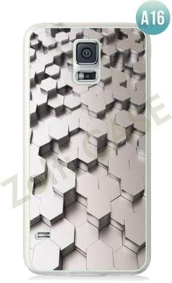 Etui Zolti Ultra Slim Case - Galaxy S5 - Abstract - Wzór A16