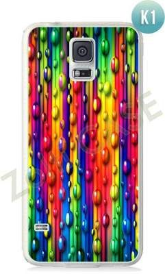 Etui Zolti Ultra Slim Case - Galaxy S5 - Colorfull - Wzór K1