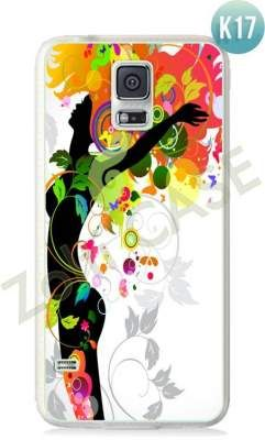 Etui Zolti Ultra Slim Case - Galaxy S5 - Colorfull - Wzór K17