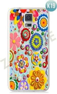 Etui Zolti Ultra Slim Case - Galaxy S5 - Colorfull - Wzór K19