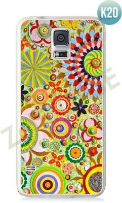 Etui Zolti Ultra Slim Case - Galaxy S5 - Colorfull - Wzór K20