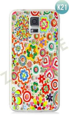 Etui Zolti Ultra Slim Case - Galaxy S5 - Colorfull - Wzór K21