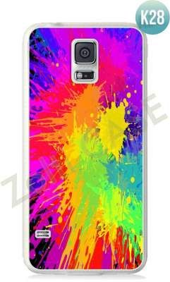 Etui Zolti Ultra Slim Case - Galaxy S5 - Colorfull - Wzór K28
