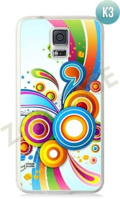 Etui Zolti Ultra Slim Case - Galaxy S5 - Colorfull - Wzór K3