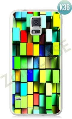 Etui Zolti Ultra Slim Case - Galaxy S5 - Colorfull - Wzór K36