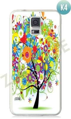 Etui Zolti Ultra Slim Case - Galaxy S5 - Colorfull - Wzór K4