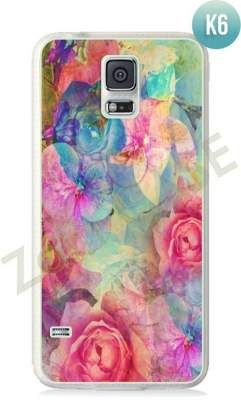 Etui Zolti Ultra Slim Case - Galaxy S5 - Colorfull - Wzór K6
