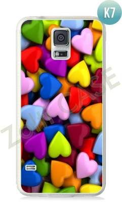 Etui Zolti Ultra Slim Case - Galaxy S5 - Colorfull - Wzór K7