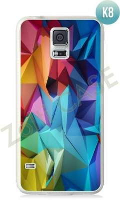 Etui Zolti Ultra Slim Case - Galaxy S5 - Colorfull- Wzór K8