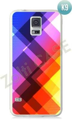 Etui Zolti Ultra Slim Case - Galaxy S5 - Colorfull - Wzór K9