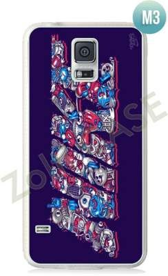 Etui Zolti Ultra Slim Case - Galaxy S5 - Cool Stuff - Wzór M3