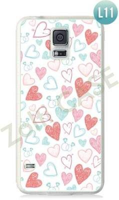 Etui Zolti Ultra Slim Case - Galaxy S5 - Romantic - Wzór L11