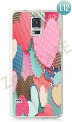 Etui Zolti Ultra Slim Case - Galaxy S5 - Romantic - Wzór L12