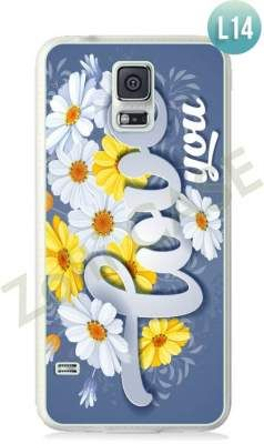 Etui Zolti Ultra Slim Case - Galaxy S5 - Romantic - Wzór L14