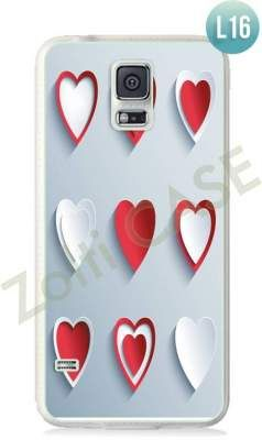 Etui Zolti Ultra Slim Case - Galaxy S5 - Romantic - Wzór L16