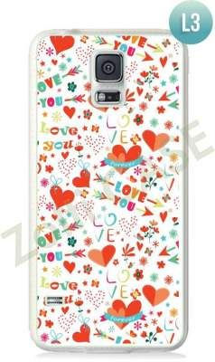 Etui Zolti Ultra Slim Case - Galaxy S5 - Romantic - Wzór L3