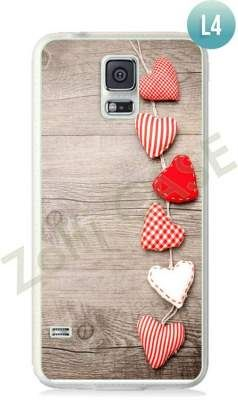 Etui Zolti Ultra Slim Case - Galaxy S5 - Romantic - Wzór L4