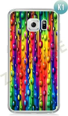 Etui Zolti Ultra Slim Case - Galaxy S6 - Colorfull - Wzór K1