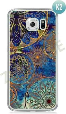 Etui Zolti Ultra Slim Case - Galaxy S6 - Colorfull- Wzór K2