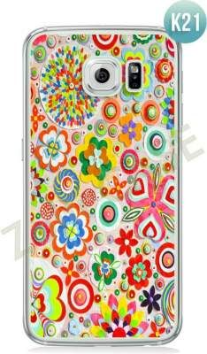Etui Zolti Ultra Slim Case - Galaxy S6 - Colorfull - Wzór K21