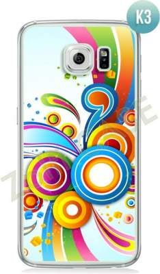 Etui Zolti Ultra Slim Case - Galaxy S6 - Colorfull - Wzór K3