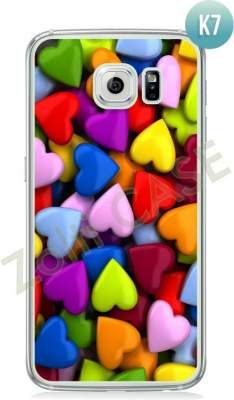 Etui Zolti Ultra Slim Case - Galaxy S6 - Colorfull - Wzór K7