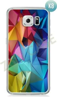 Etui Zolti Ultra Slim Case - Galaxy S6 - Colorfull- Wzór K8
