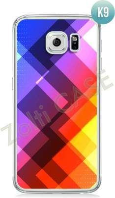 Etui Zolti Ultra Slim Case - Galaxy S6 - Colorfull - Wzór K9
