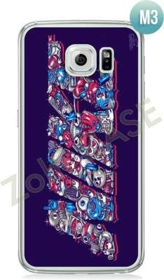 Etui Zolti Ultra Slim Case - Galaxy S6 - Cool Stuff - Wzór M3