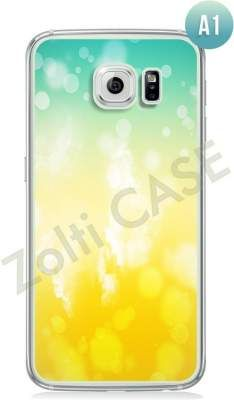 Etui Zolti Ultra Slim Case - Galaxy S6 Edge - Abstract - Wzór A1