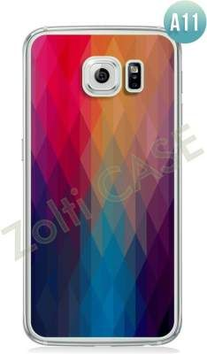 Etui Zolti Ultra Slim Case - Galaxy S6 Edge - Abstract - Wzór A11