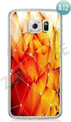 Etui Zolti Ultra Slim Case - Galaxy S6 Edge - Abstract - Wzór A12
